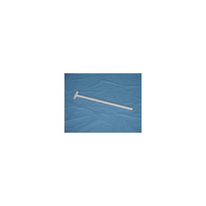 Pied de maintien en T inversé pr piscines H 75 cm