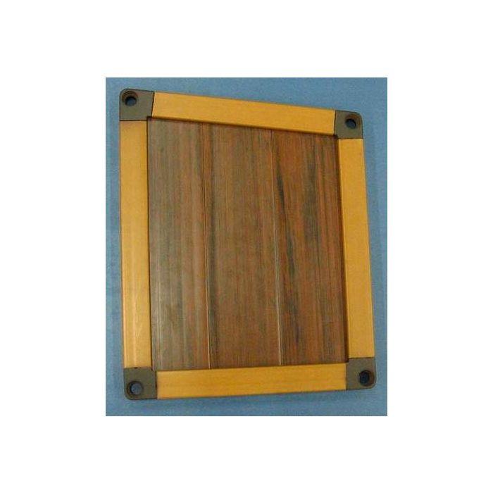 Panneau lateral du coffre de fixation (pour une pompe filtrant)