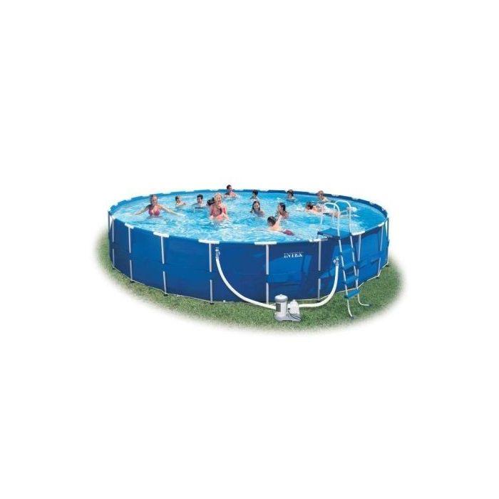 732 cm x 132 cm - Intex Metal Frame Pool
