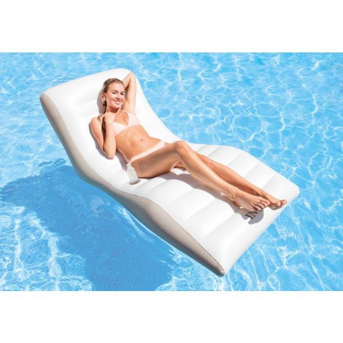 Intex wave lounge blanc