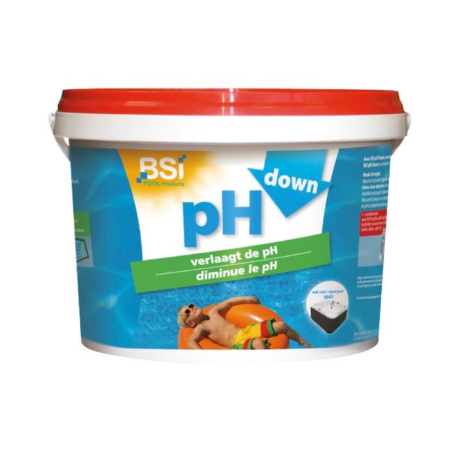 BSI 6500 pH DOWN Powder 5 Kg