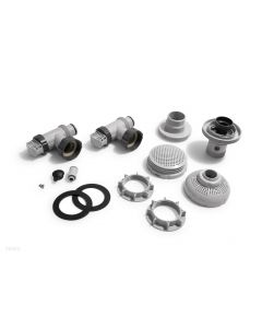 """LARGE POOL 1-1/2"""" (38MM) INLET AND OUTLET FITTINGS SET FOR PUMP W/ SYSTEM FLOW RATE1050-1900GPH (IO)"""