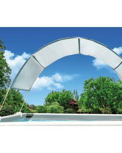 Auvent de piscine canopy Intex