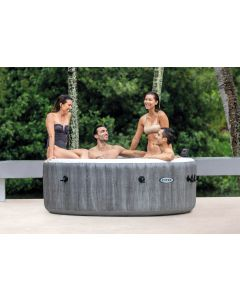 4 Persoons Greywood Jet & Bubble Deluxe - Intex PureSpa