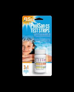 PoolSan cs Bandelettes de Test 50 pcs.