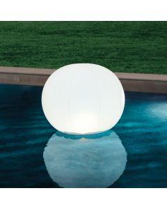 Intex boule flottante avec éclairage LED 89 x 79cm