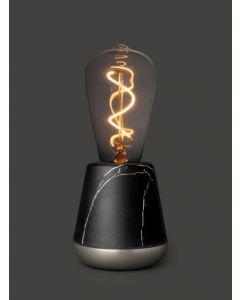 Lampe LED Humble One (marbre noir)
