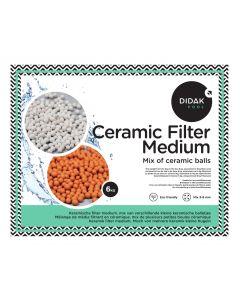 Média Filtrant en Céramique - Mélange de 3 types de boules de céramique 3.0 - 4.0 mm - 6 kg