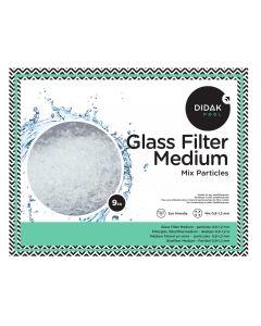 Média Filtrant de Verre – Mélange de particules de verre 0.8 - 1.2 mm 9 kg