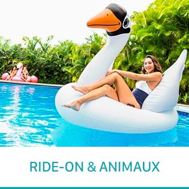Intex Ride-On et animaux gonflable