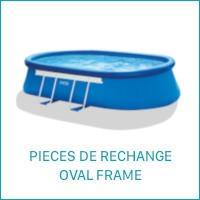 Intex Pièces de Rechange pour les Piscines Oval Frame