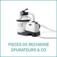 Intex Pièces de Rechange pour les Epuratuers et strérilisateurs au sel
